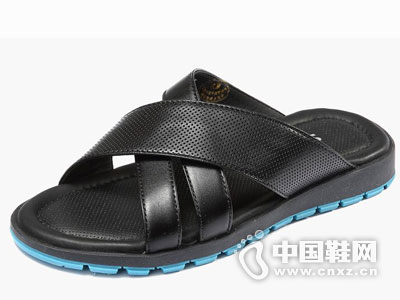 沙驰男鞋2016拖鞋新款