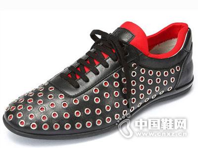 沙驰男鞋2016休闲鞋新款