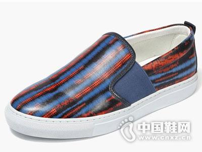 沙驰男鞋201英伦时尚乐福鞋新款