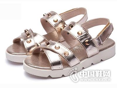 薇妮比比Velvet Bee童鞋2016凉鞋新款