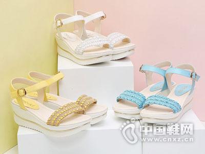 名典女鞋2016凉鞋新款