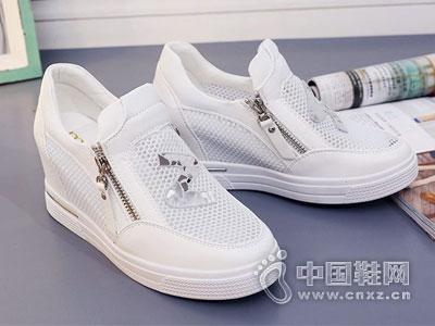 名典女鞋2016厚底休闲鞋新款