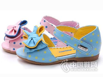 BBG时尚童鞋2016中空凉鞋新款