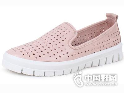 艾熙女鞋2016松糕单鞋坡跟新款
