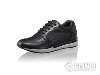 型录夏季时尚休闲真皮健步鞋