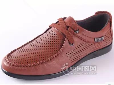 老鞋匠2016夏季新款真皮软底软面休闲皮鞋