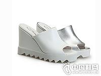 圣恩熙女鞋2016夏季坡跟拖鞋新款