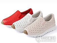 嘉俪多女鞋2016新款镂空休闲单鞋