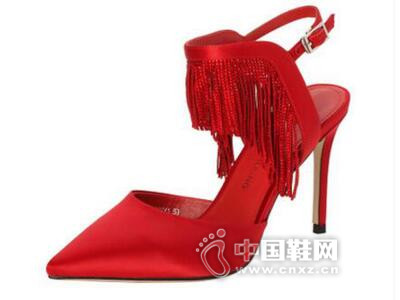 roberta诺贝达2016夏新款欧美纯色细跟女鞋