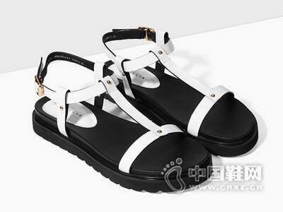 色非2016夏季新款欧美厚底凉鞋休闲真皮女鞋时尚坡跟凉鞋