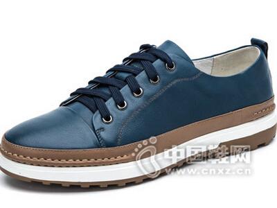 奥康2016韩版潮鞋真皮板鞋休闲鞋