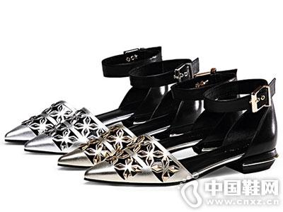 MILEER超级店2016新款中空平底鞋