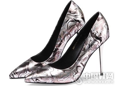MILEER超级店2016新款高跟单鞋