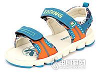 卡丁童鞋2016中童韩版休闲学生凉鞋