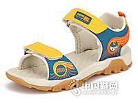 卡丁童鞋2016露趾男童凉鞋