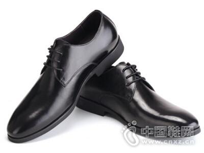 拉巴奴2016时尚系带皮鞋英伦潮流商务正装尖头男鞋