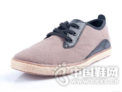 kenboo2016复古亚麻休闲鞋男平底低帮鞋