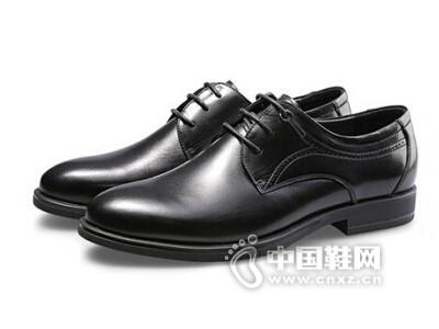 奥斯曼佰莱2016男士真皮商务正装皮鞋
