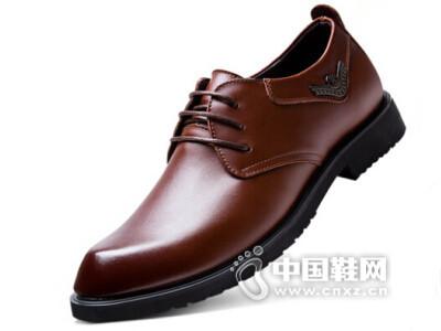 jkjk2016真皮透气耐磨商务皮鞋