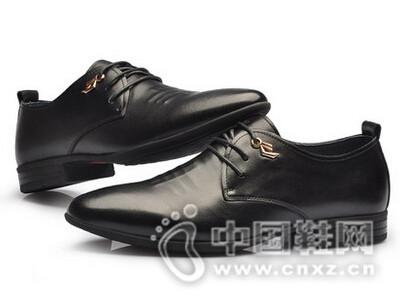 阿莱克顿2016韩版真皮商务休闲鞋