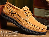公羊2016秋季新款男士系带低帮工装潮鞋