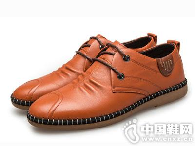 中国犀牛2016秋季休闲男士皮鞋