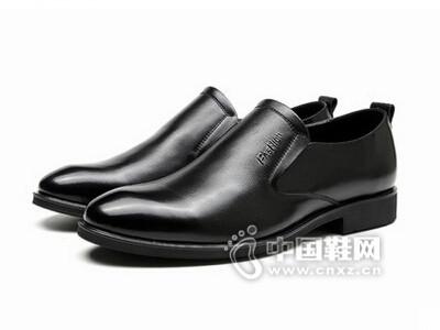 皮王狮丹2016商务正装牛皮单鞋