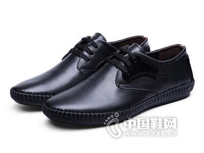 奥古仕盾2016休闲皮鞋英伦软面皮鞋