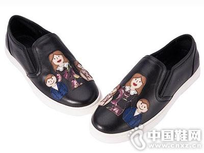 杜嘉班纳2016新款女休闲单鞋
