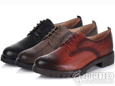 Bata/拔佳皮鞋2016新款休闲女鞋