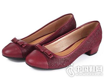 Bata/拔佳皮鞋2016新款浅口单鞋