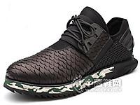 惠特2016鳄鱼纹休闲鞋