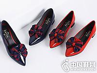百思图女鞋2016秋季新款休闲单鞋