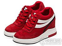 依思Q女鞋2016秋季新款坡跟休闲鞋