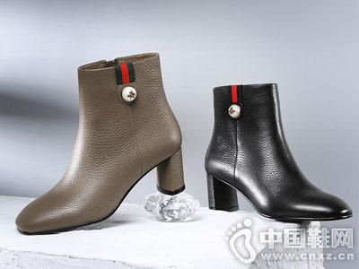 柯玛妮克2016秋季内增高休闲靴新款