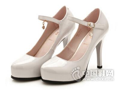 巨日2016韩版浅口淑女高跟鞋