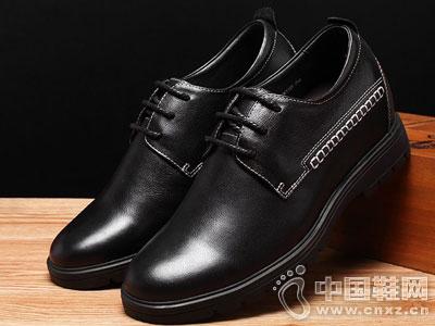 何金昌男士内增高鞋2016秋季真皮男鞋