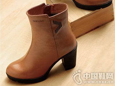 名郎休闲鞋2016秋冬新款女短靴