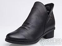 菲英女鞋2016秋冬休闲短靴新款