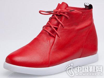菲英女鞋2016秋冬休闲中帮运动鞋