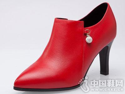 菲英女鞋2016秋季新款低靴