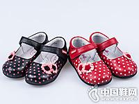 四季熊童鞋2016秋冬新款浅口童皮鞋