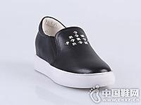 迪欧摩尼2016秋冬厚底休闲单鞋新款