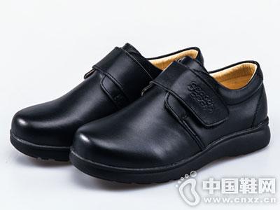 四季熊童鞋2016秋冬新款休闲童皮鞋