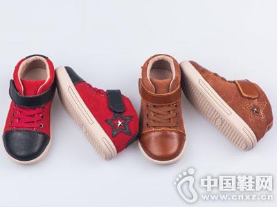四季熊童鞋2016秋冬新款休闲中帮