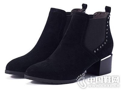 百田森女鞋2016冬季新款靴子