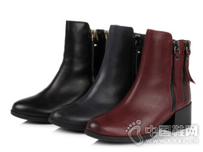 天美意2016冬季新款女鞋