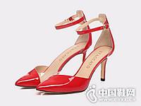 思加图2017尖头女鞋