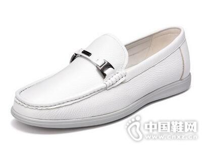 富贵鸟男鞋2017夏简约休闲鞋一脚蹬懒人鞋