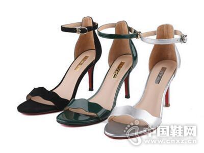 百田森2017夏高跟性感细跟韩版显瘦女鞋